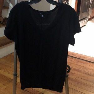 Gap Black Shirt, Women's Medium